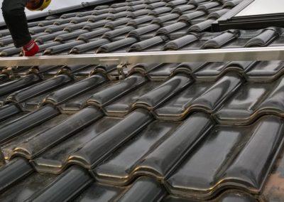 konstrukcja dachowa pod PV na dachówce ceramicznej