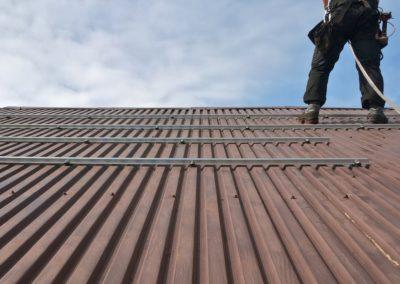 konstrukcja pod panele fotowoltaiczne blacha trapezowa