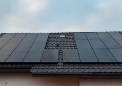panele fotowoltaiczne Bruk Bet Solar Full Black cala instalacja