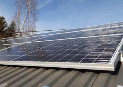 panele fotowoltaiczne CanadianSolar na dachu