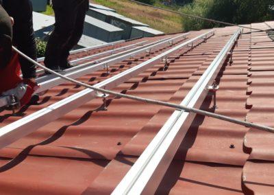 Konstrukcja montazowa pod panele fotowoltaiczne JA Solar