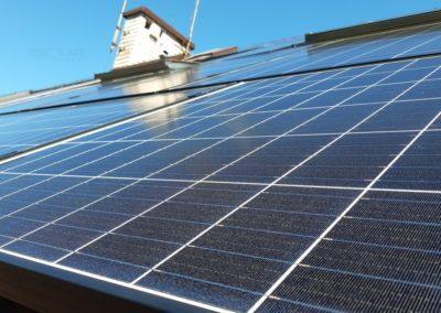 Panele fotowoltaiczne EXE Solar na dachu Kraków