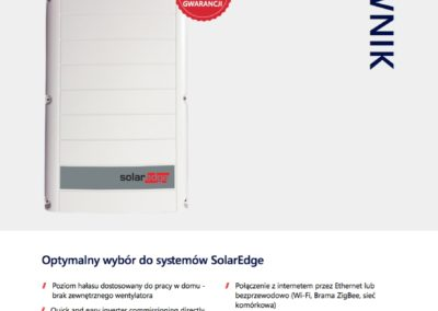 falownik SolarEdge se5k Bisolar