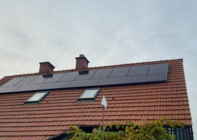 instalacja fotowoltaiczna na dachu optymalizacja SolarEdge Kraków