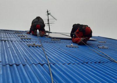 Panele fotowoltaiczne JA Solar dach blacha Bisolar