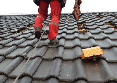 konstrukcja montazowa K2 Systems pod panele fotowoltaiczne dachowka ceramiczna
